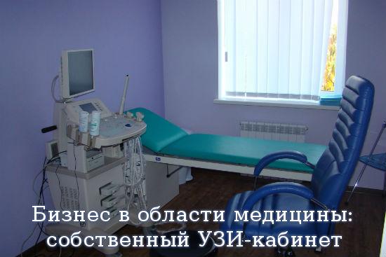Бизнес в области медицины: собственный УЗИ-кабинет