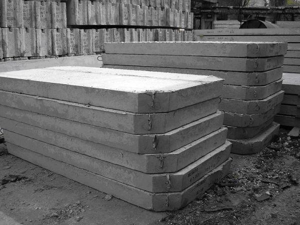 Дорожные бетонные плиты