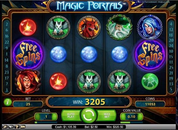 Игровой автомат Magic Portals - побывай в мире магов и богатых колдунов