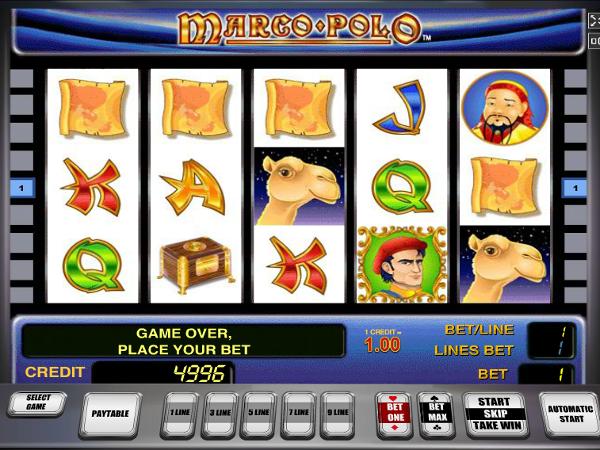 Игровой автомат Marco Polo - путешествуй и зарабатывай по взрослому