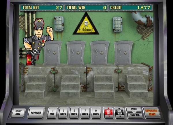 Игровой автомат Resident - охота за золотом казино Вулкан