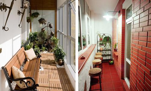 Как выполнить привлекательную и интересную отделку балкона?