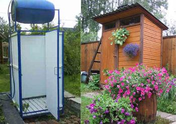 Бизнес-идея: летний душ для дачи