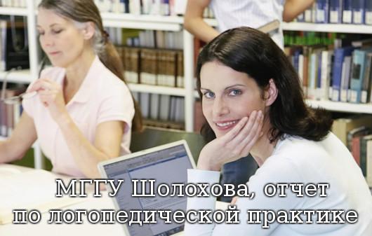 МГГУ Шолохова