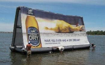 Бизнес-идея: надувные билборды