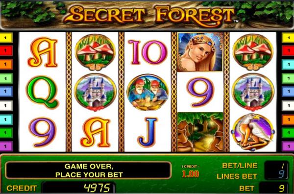 Картинки по запросу secret forest slot