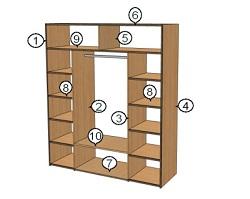 Как построить шкаф своими руками